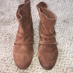 NineWest Vintage America Leather Ankle Boots